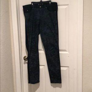 Tru luxe straight leg jeans